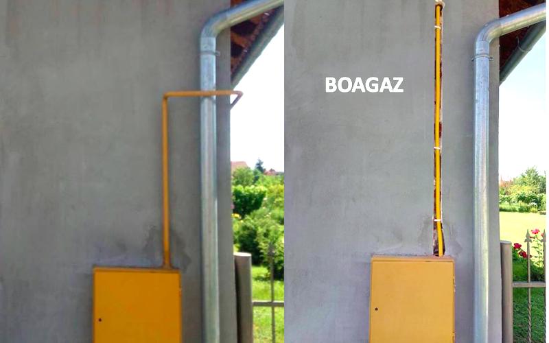 BOAGAZ - podžbukna plinska instalacija u Hrvatskoj