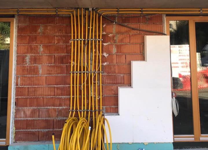 BOAGAZ plinska instalacija ispod fasade